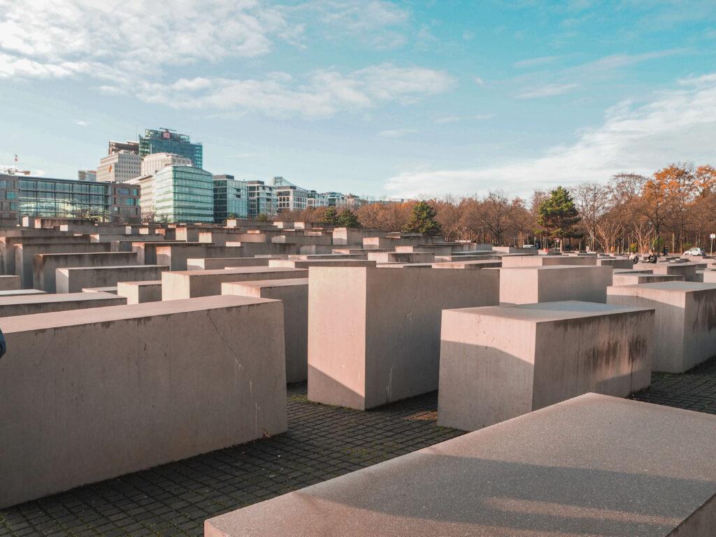 židovský památník v Berlíně