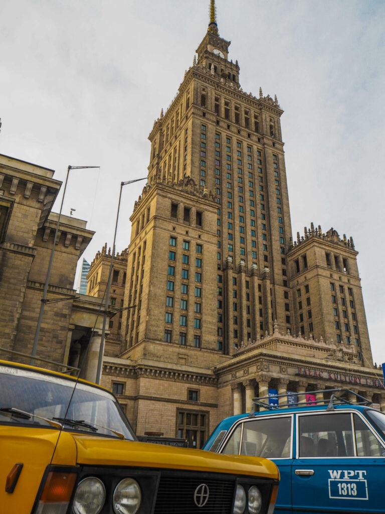 Palác kultury a vědy Varšava