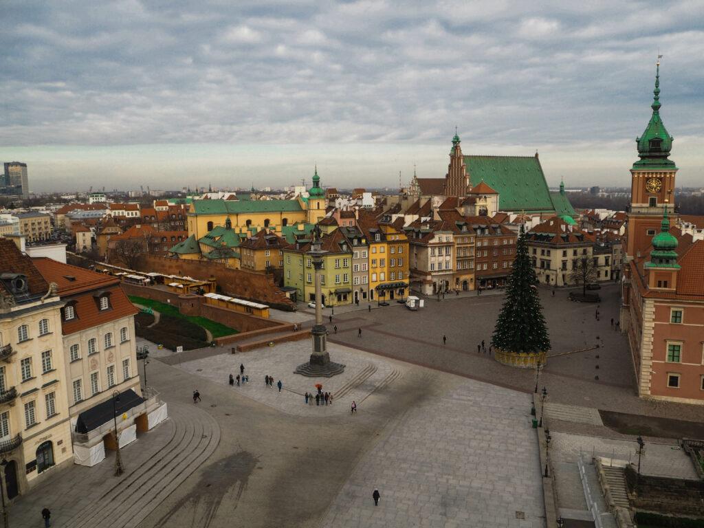 varšavské staré město